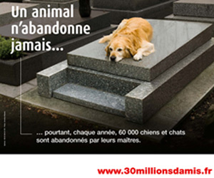 Fondation 30 Millions d'Amis pour la protection des animaux